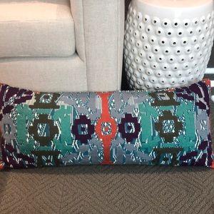 Anthropologie lumbar pillow with insert